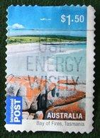 $1.50 Beaches Bay Of Fires Tasmania 2010 Used Gebruikt Oblitere Australia Australien / Australie - 2010-... Elizabeth II