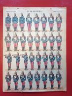 Image D' Epinal Pellerin - Cuirassiers N° 133 - Format 30 X 40 Cm - Vieux Papiers