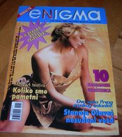 Charlize Theron - ENIGMA - Serbian February 2004 EXTREMELY RARE ITEM - Magazines