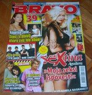 Christina Aguilera Angelina Jolie -  BRAVO Serbian January 2007 VERY RARE - Magazines