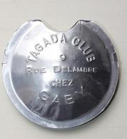 "Rare Instrument De Musique à Vent Alu ""La Pėpette"" Tagada Club - 9, Rue Delambre - Chez Gaby - Paris - Haribo - Instrumentos De Música"