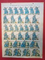 Image D' Epinal Pellerin - Infanterie Française - En Tirailleurs Sur Le Terrain... N° 213 - Format 30 X 40 Cm - Vieux Papiers