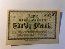 Allemagne Notgeld Parchim 50 Pfennig - [ 3] 1918-1933 : République De Weimar