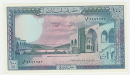 Lebanon 100 Livres 1988 XF++ - AUNC Pick 66d - Lebanon