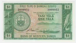 WESTERN SAMOA 1 TALA 1967 UNC NEUF PICK 16d 16 D - Samoa