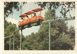 Berck -bagatelle-parc D'attraction- Le Monorail--cpm - Berck