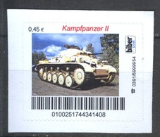 Biber Post Kampfpanzer II Gez. (45) A1040 - [7] Repubblica Federale