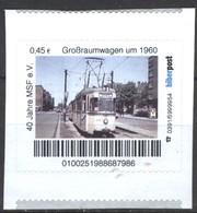 Biber Post Großraumwagen Um 1960 (Tram) Gez. (45) A1042 - BRD