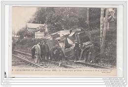 10223 FRD27 AK PC CPA/FRANCE/CATASTROPHE DE BERNAY/LE TENDER PROJETE/1910 - Francia