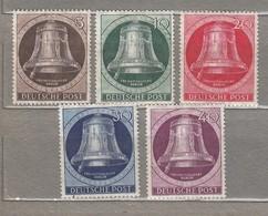 GERMANY BERLIN 1951 Mint VLH (**/*) Mi 75-79 #24623 - [5] Berlín