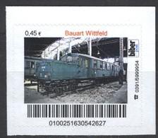 Biber Post Bauart Wittfeld (Akkumulator-Triebwagen, E-Lok) Gez. (45) A1048 - BRD