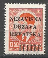 HR 1941-01 DEFINITIVE, CROATIA HRVATSKA, 1 X 1v, MNH - Croatie