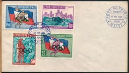 °°° HAITI - PORT AU PRINCE FDC OLIMPIADI - 1960 °°° - Haiti