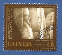 Lettland / Latvija  2003  Mi.Nr. 590 , EUROPA CEPT Plakatkunst - Gestempelt / Fine Used / (o) - Europa-CEPT