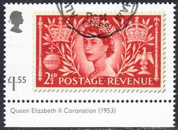2019 GB  Stamp Classics 2019 - Queen Elizabeth II Stamp Of 1953 Used - 1952-.... (Elizabeth II)