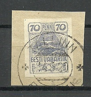 Estland Estonia 1919 Michel 11 O Tallinn - Estland
