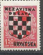 HR 1941-12 DEFINITIVE SET, CROATIA HRVATSKA, 1 X 1v, MNH - Croatie