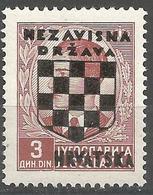 HR 1941-14 DEFINITIVE SET, CROATIA HRVATSKA, 1 X 1v, MNH - Croatie