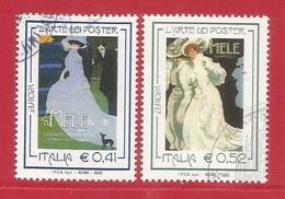 Italien / Italia  2003  Mi.Nr. 2908 / 2909 , EUROPA CEPT Plakatkunst - Gestempelt / Fine Used / (o) - 2003