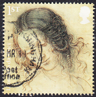 2019 GB  Leonardo Da Vinci Sketchwork - The Head Of Leda 1st SG4175 Used - 1952-.... (Elizabeth II)