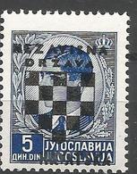 HR 1941-16 DEFINITIVE SET, CROATIA HRVATSKA, 1 X 1v, MNH - Croatie