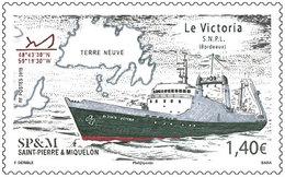 Saint Pierre & Miquelon 2019 - Le Victoria Mnh - St.Pedro Y Miquelon