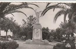 Rare Cpa El Arrouch Le Square Avec Monument Aux Morts - Algeria