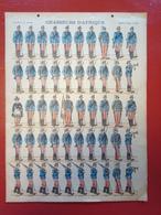 Image D' Epinal Pellerin - Chasseurs D' Afrique N° 194 - Format 30 X 40 Cm - Vieux Papiers