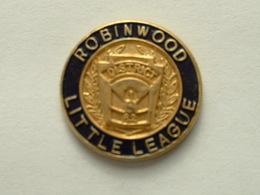 Pin's BASEBALL - ROBINWOOD LITTLE LEAGUE - Baseball