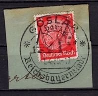 Briefstueck, Hindenburg, SoSt Goslar, 1939 (72958) - Alemania