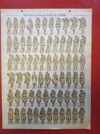 Image D' Epinal Pellerin - Zouaves à La Revue N° 212 - Format 30 X 40 Cm - Vieux Papiers