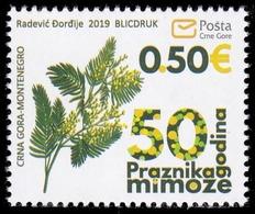 Montenegro, 2019, Mimosa Festival, Set, MNH, Mi# - Montenegro