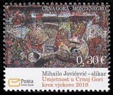 Montenegro, 2019, Art, Set, MNH, Mi# - Montenegro