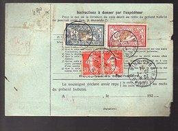 Coupon Bulletin D'Expédition 1924 MOLSHEIM > Strasbourg To Genève (188) - Frankrijk
