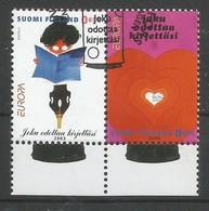 Finnland  2003   Mi.Nr. 1655 / 1656 , EUROPA CEPT - Plakatkunst - Gestempelt / Fine Used / (o) - 2003