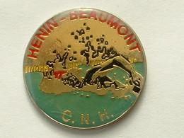 Pin's NATATION - HENIN BEAUMONT - Natation