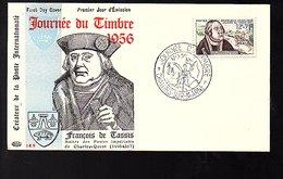 FDC 1957 Franz Von Taxis (1459-1517) Albrecht Dürer (189) - 1950-1959