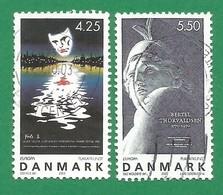Dänemark   2003   Mi.Nr. 1341 / 1342 , EUROPA CEPT - Plakatkunst - Gestempelt / Fine Used / (o) - 2003