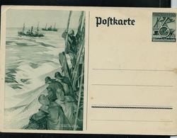 Entier Du 3 Reich  Sur La Pêche En Mer - Alimentation