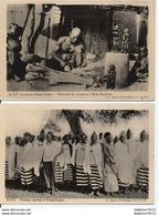 A.O.F- Lot De 2 CPAs - Senegal