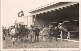 Aviation - Avion Hanriot HB-14 - Club D' Aviation Neuchâtel - Rarissime - Lot De 3 Cartes - 1919-1938: Entre Guerres