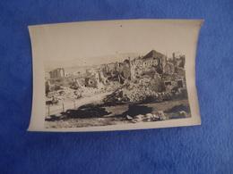 Photo Guerre 14-18 En Italie à Identifier Asiago Décembre 1918 - Guerra, Militares