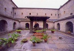 Santuario Della Verna - Arezzo - Chiostro - Formato Grande Non Viaggiata – E 11 - Arezzo