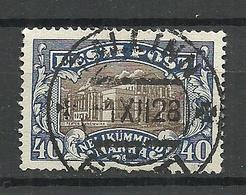 Estland Estonia 1927 Michel 56 O Tallinn Gut Gestempelt - Estland