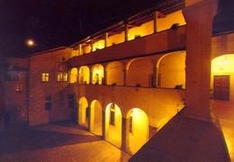 Santuario Della Verna - Arezzo - Chiostro Vasariano - Notturno - Formato Grande  Non Viaggiata – E 11 - Arezzo
