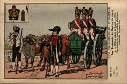 Les Uniformes Du 1er Empire - Les Transports Du Services De Santé - Würst Attelé De Boeufs - 1813 - En L'état - Uniformen