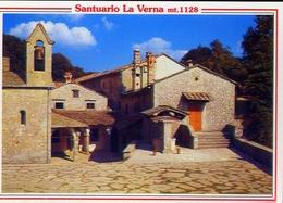 Santuario Della Verna - Arezzo - Piazzale Del Santuario - Formato Grande Non Viaggiata – E 11 - Arezzo