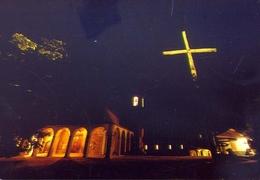 Santuario Della Verna - Arezzo - Piazzale Della Basilica - Notturno - Formato Grande Non Viaggiata – E 11 - Arezzo
