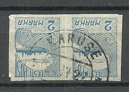 ESTLAND Estonia 1920 O KARUSE Auf Michel 17 - Estland