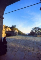 Santuario Della Verna - Arezzo - Scorcio Dal Porticato Della Basilica - Formato Grande Non Viaggiata – E 11 - Arezzo